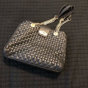 Black studded Aldo purse.